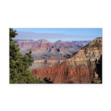 Grand Canyon 1115a Rectangle Car Magnet