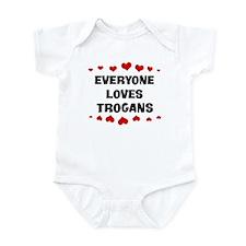 Loves: Trogans Infant Bodysuit