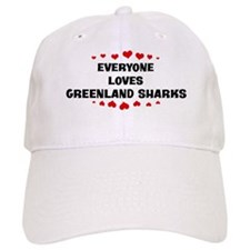 Loves: Greenland Sharks Baseball Cap