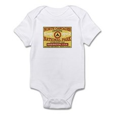 North Cascades National Park Infant Bodysuit