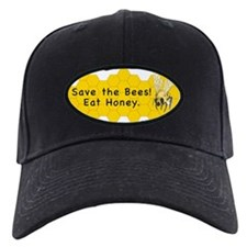 Save the Bees! Eat Honey. Baseball Hat