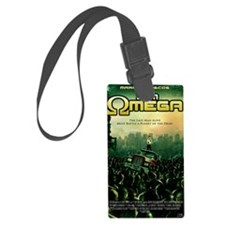 I Am Omega Poster Luggage Tag