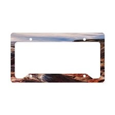 painted desert License Plate Holder