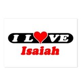I Love Isaiah Postcards (Package of 8)