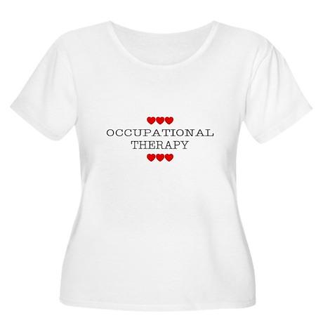 OT Hearts Women's Plus Size Scoop Neck T-Shirt