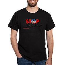 Stop Obama's Ineptocracy T-Shirt