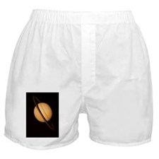 Voyager 1 image of Saturn Boxer Shorts