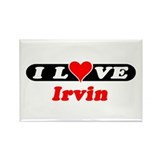 I Love Irvin Rectangle Magnet (10 pack)