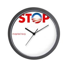 Stop Obama's Ineptocracy Wall Clock