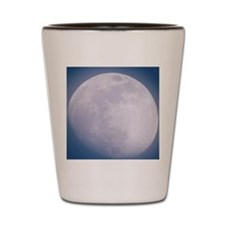 Waxing gibbous Moon Shot Glass