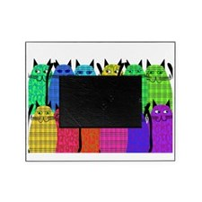 social worker cats DARKS Picture Frame