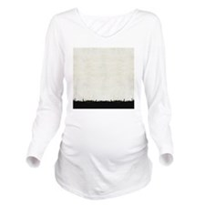 curtain_Urban City Long Sleeve Maternity T-Shirt