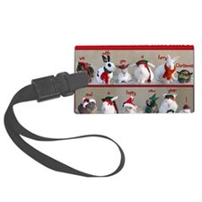Twelve Buns of Christmas Luggage Tag