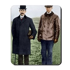 Wright brothers, US aviation pioneers Mousepad