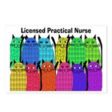 LPN cats Postcards (Package of 8)