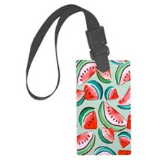 watermelons Large Luggage Tag