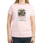 Irish America: Fenian Trad/Women's Pink T-Shirt