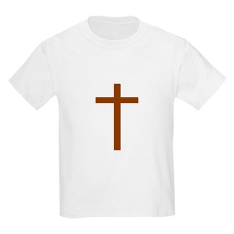 Brown Cross Kids Light T-Shirt