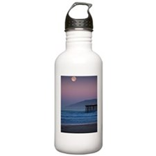 Full moon sets over Pi Water Bottle