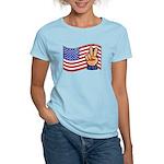 Patriotic Peace Hand Women's Light T-Shirt