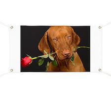 Valentines Dog Banner