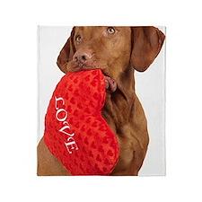 Love puppy Throw Blanket
