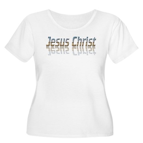 Jesus Christ Women's Plus Size Scoop Neck T-Shirt