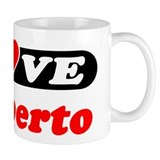I Love Heriberto Small Mug