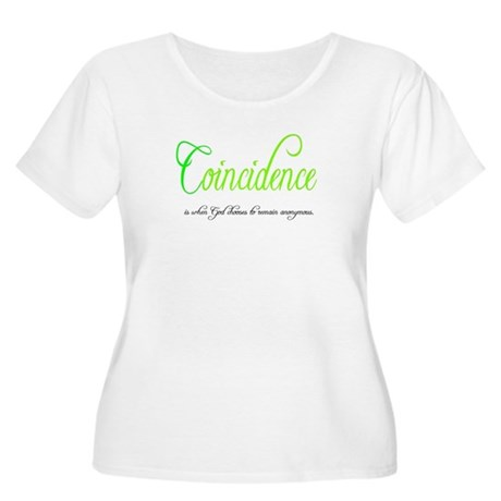 Coincidence Women's Plus Size Scoop Neck T-Shirt