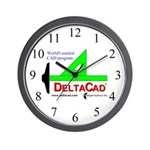 DeltaCad Wall Clock