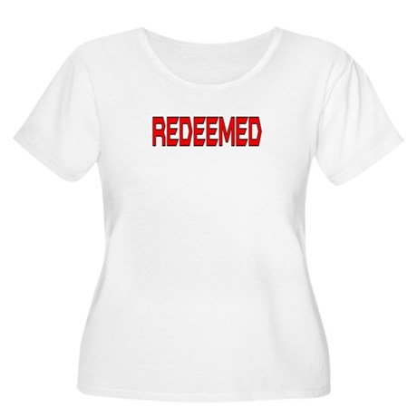 Redeemed Women's Plus Size Scoop Neck T-Shirt