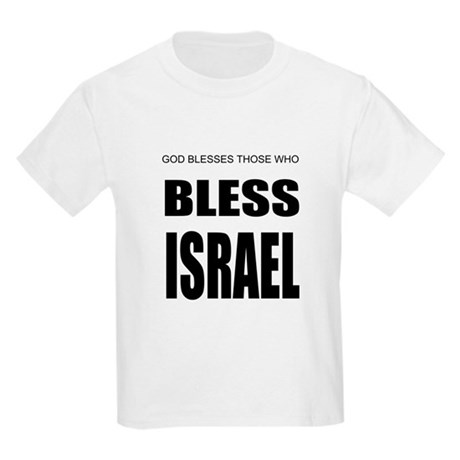 Bless Israel Kids Light T-Shirt