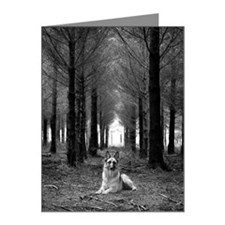 German Shepherd Dog sitting  Note Cards (Pk of 10)