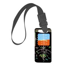 Aeroplane control panel display Luggage Tag