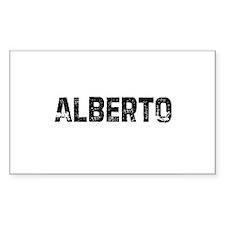 Alberto Rectangle Decal