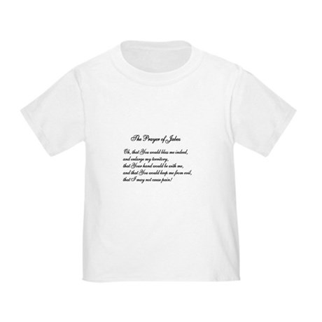 The Prayer of Jabez Toddler T-Shirt