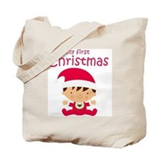 Boys My First Christmas Tote Bag
