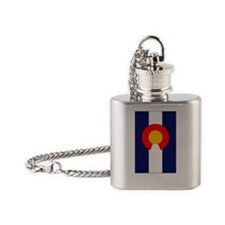 CO - Colorado Flask Necklace