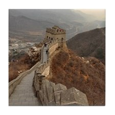 Great Wall of China in Beijing, china Tile Coaster