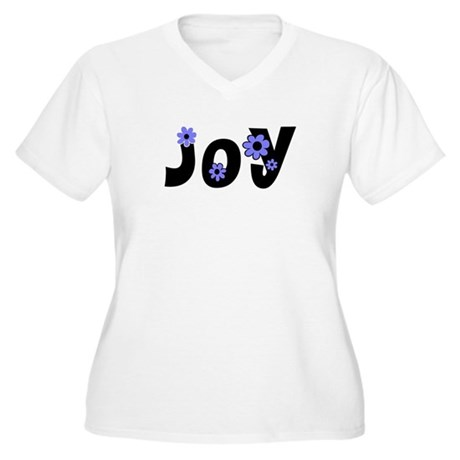 Joy Women's Plus Size V-Neck T-Shirt