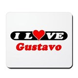 I Love Gustavo Mousepad