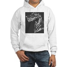 Scottish Deerhound Pillow Hoodie