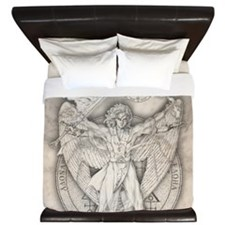Uriel allover King Duvet
