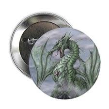 "Misty allover 2.25"" Button"