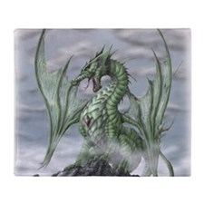 Misty allover Throw Blanket