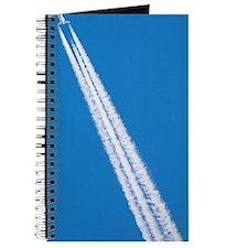 Aircraft contrail Journal