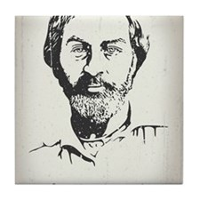 walt-whitman-LG Tile Coaster