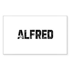 Alfred Rectangle Decal