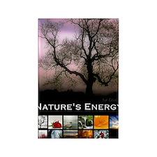 2013 Natures Energy Calendar Rectangle Magnet