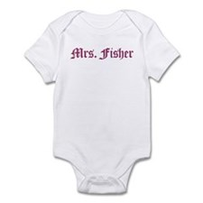Mrs. Fisher  Infant Bodysuit
